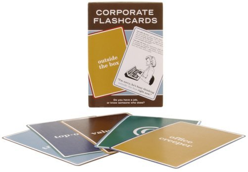 corporate flashcards Pinboard