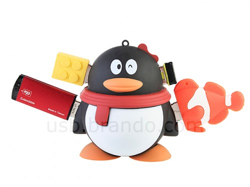 Drunk Penguin 4 Port USB Hub