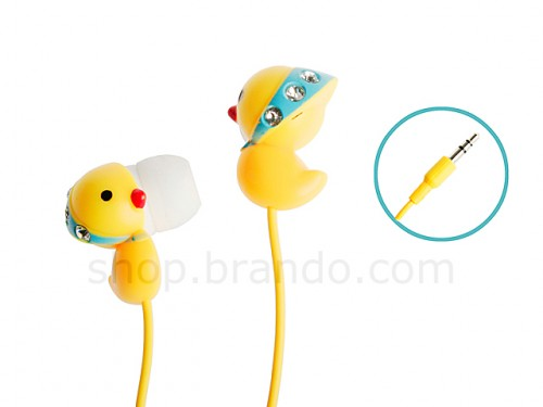 Bling Duck Headphones