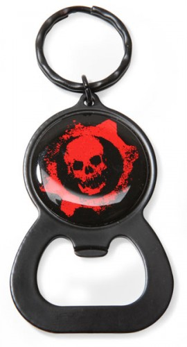 Gears of War Bottle Opener Keychain