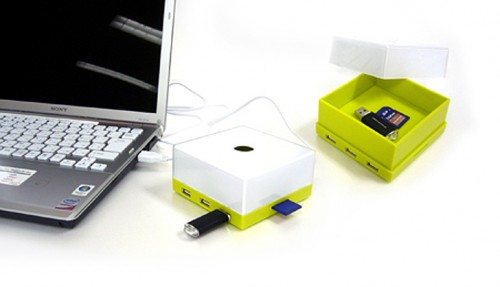 HuBox Puts Your USB Hub in a Box