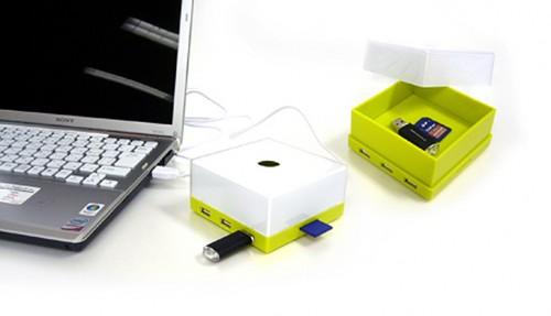 HuBox Puts Your USB Hub in a Box