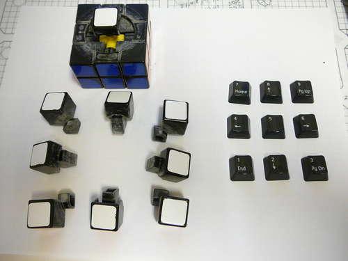 keyboard keys rubik s cube  craziest gadgets