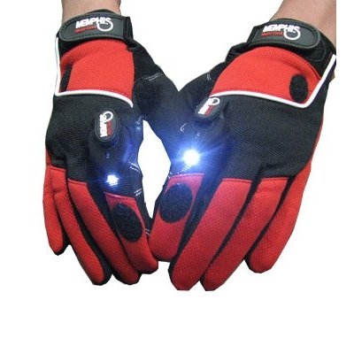 led light gloves Pinboard
