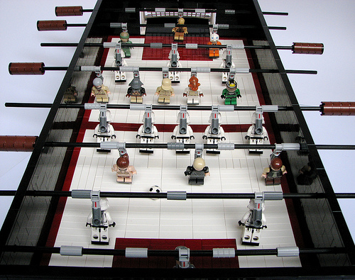 lego stars wars table football LEGO Star Wars Foosball Table (EPIC. CONFIRMED.)
