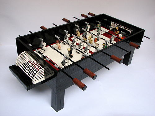 lego stars wars table soccer LEGO Star Wars Foosball Table (EPIC. CONFIRMED.)