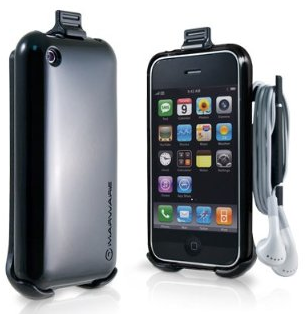 Marware Sidewinder iPhone Case Holds the Cord
