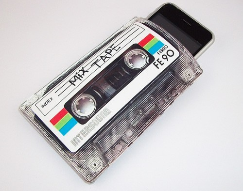 80′s Mixtape iPhone Case