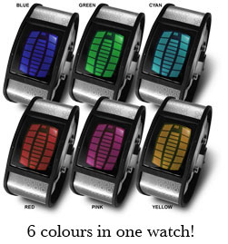 nekura scramble colors Nekura Scramble Color Changing Watch