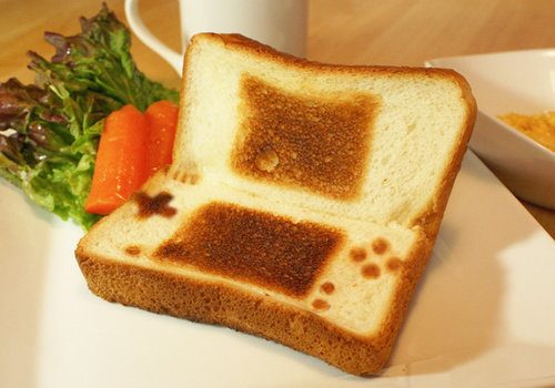 Nintendo Toast Still Doesn't Make it Ok to Play With Your Food