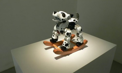 Robot Dog Rocking Horse