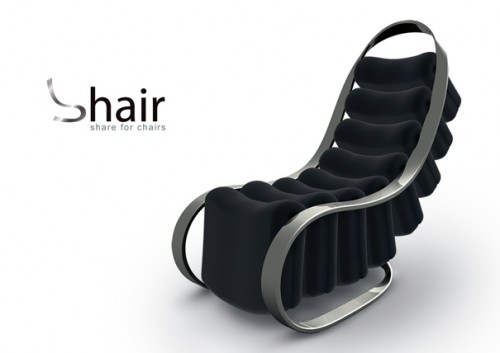 Shair Chair is a Chair You Can Share With 8 People