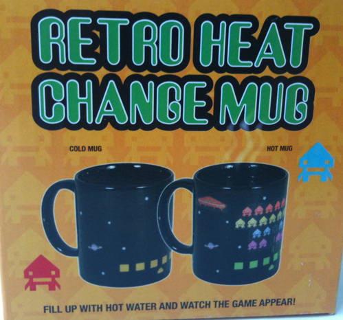 space invaders color change mug Pinboard