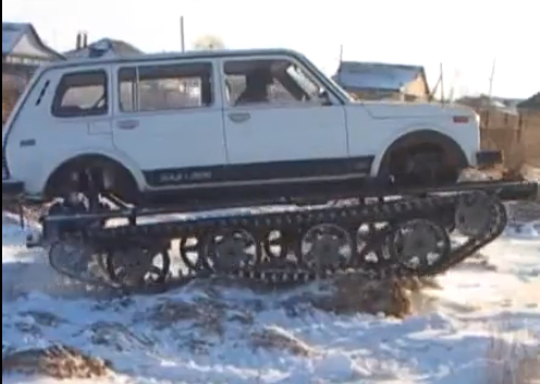 Converting Any Car into a Tank