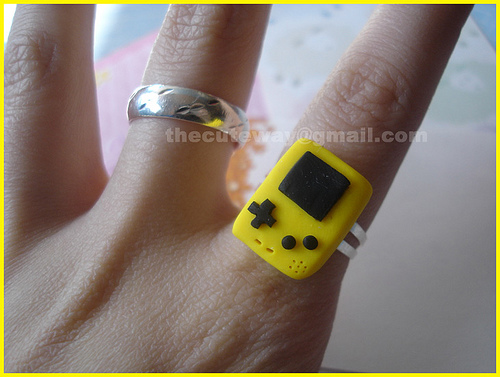 tiny gameboy ring Pinboard
