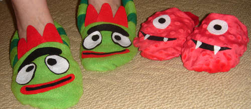 Yo Gabba Gabba! Slippers are Awesome