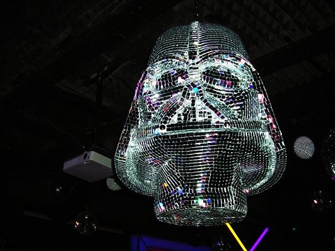 Darth Vader Disco Ball Lords Over All Other Disco Balls