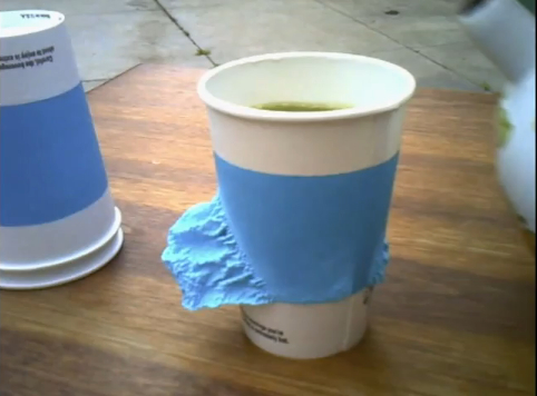 Coffee Cups with Heat Activated Built In Sleeves Craziest Gadgets