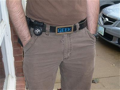 Reminder: Last Day to Enter the Scrolling LED Belt Buckle Giveaway
