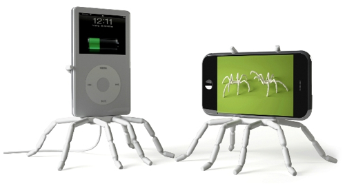 spider podium Spider Podium is a Creepy Cool iPod Holder