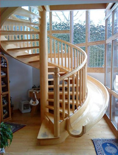 The Greatest Spiral Staircase Ever