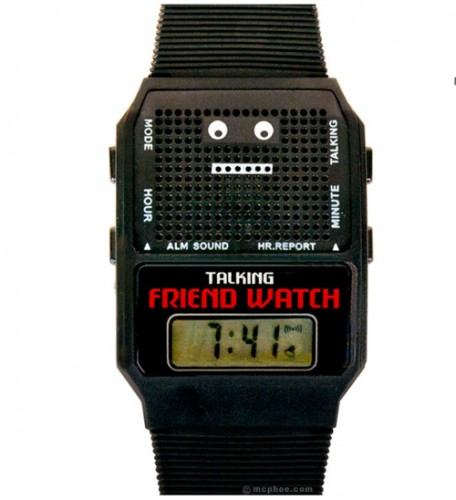 Talking Friend Watch is a Friend You Can Count On