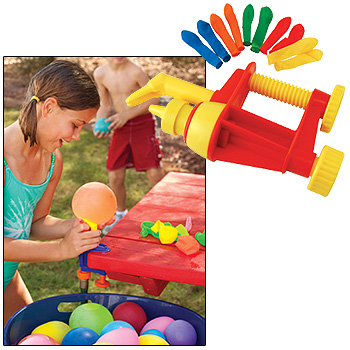 Make 10 Water Balloons a Minute with the Water Bomb Factory
