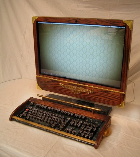 Victorian iMac Mod Respects Wood