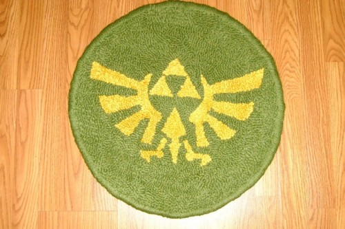 Zelda Triforce Rug