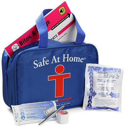 Talking First Aid Kit Tells You What to Do