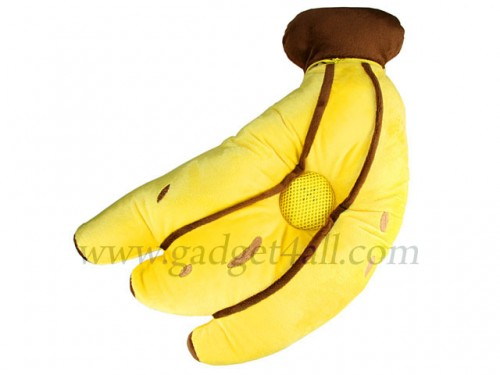 Banana Music Pillow