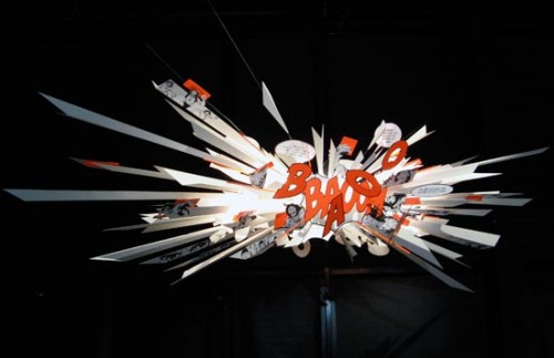 Bang Boom Lamp is Comically Awesome