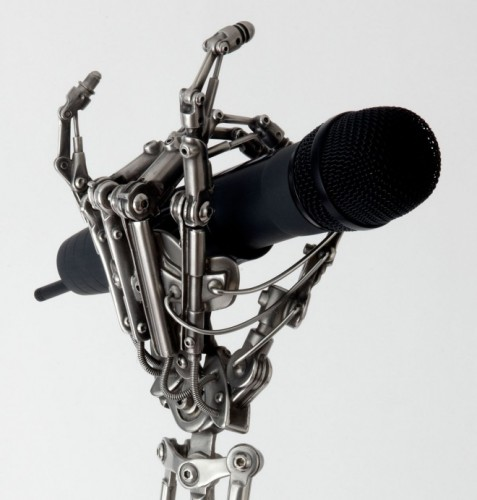 This is the Handiest Mic Stand Ever