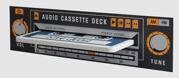 cassette deck shelf Pinboard