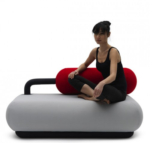 Champ Sofa Turns Into a Punching Bag