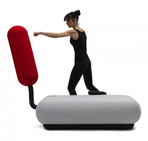 Champ Sofa Turns Into a Punching Bag -Craziest Gadgets