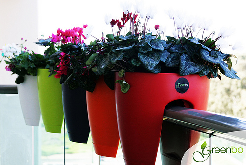 Greenbo Rail Mounted Planters