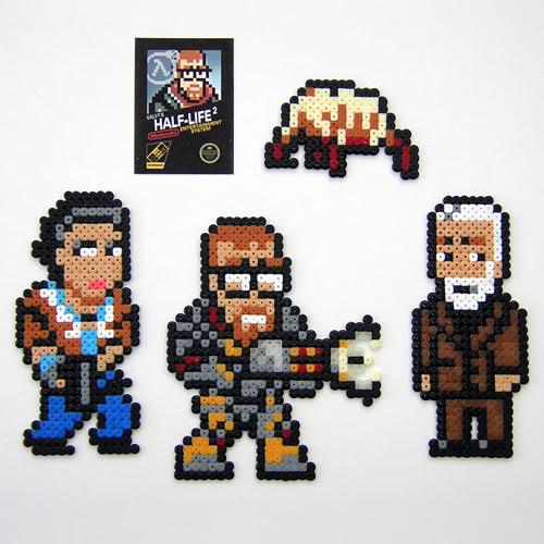 Half Life 2 Retro Bead Sprites