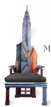 manhattan skyline chair6 Incredible New York City Skyline Chairs