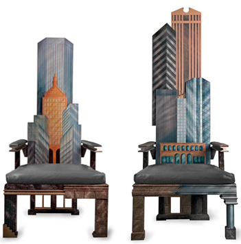 manhattan skyline chairs4 Incredible New York City Skyline Chairs