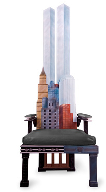 manhattan skyline chairs5 Incredible New York City Skyline Chairs