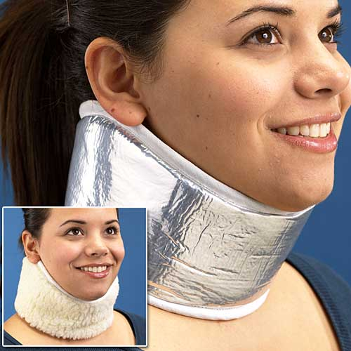 Reversible Neck Warmer Looks Like a Neck Brace or Exhaust Vent