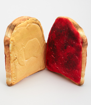 pbj pouch open Peanut Butter and Jelly Pouch