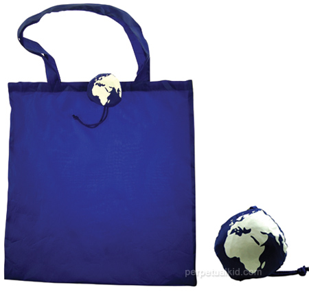 Planet Earth Reusable Bag