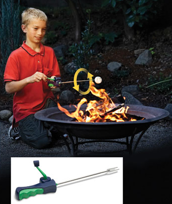 Go Fishing for Tooth Decay with a Reel Marshmallow Roaster