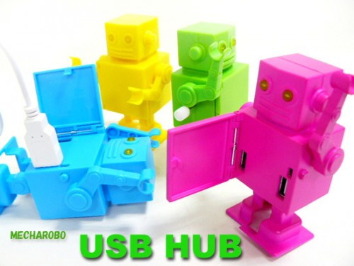 USB Windup Robot Hub