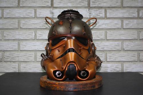 Steamtrooper Steampunk Stormtrooper Helmet