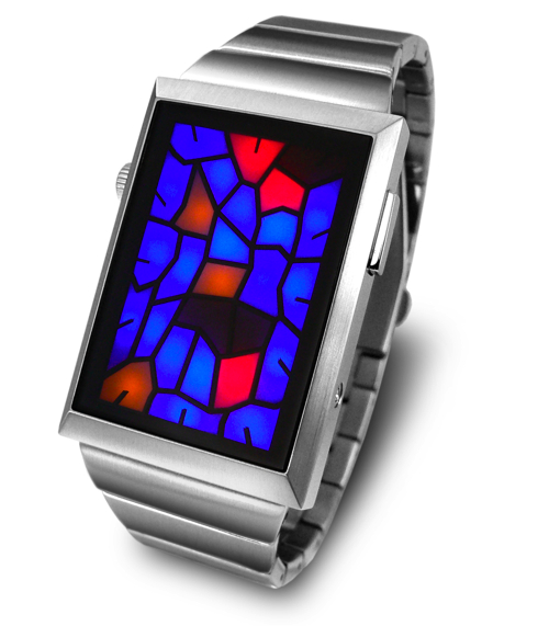 New Kisai Broke Watch from Tokyoflash Looks Like Stained Glass