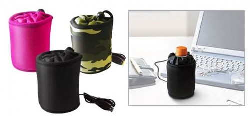 USB Powered Beverage Cooler Bag