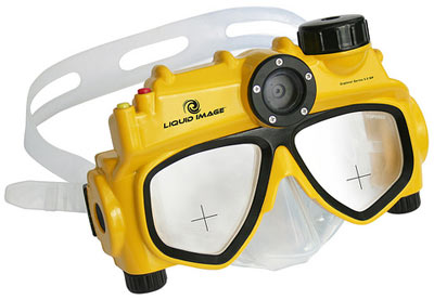 Take Underwater Video with a Video Swim Mask